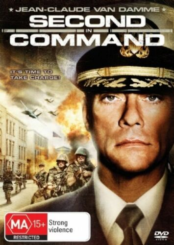1 of 1 - Second In Command-DVD VERY GOOD CONDITION FREE POSTAGE AUSTRALIA WIDE REGION 4