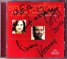 Simone Kermes & Andrea Marcon firmato amor profano Vivaldi CD Venice Baroque