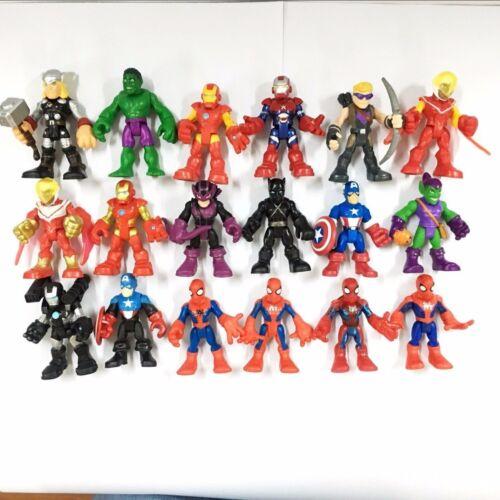 Random Lot 5pcs Playskool Heroes Marvel Super Hero Squad Movies Figure Toy Gift