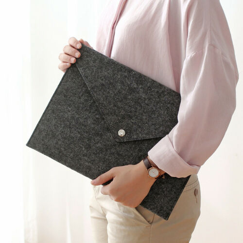 Graue A4 Filetaschen Business Aktenkoffer Aktenordner Tablet Organizer Tasche