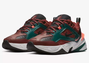 new concept c80ed 337da Image is loading NIKE-M2K-TEKNO-PUEBLO-BROWN-RAINFOREST-AV4789-200-
