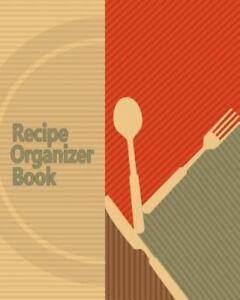 recipe organizer book 150 blank recipes diy recipe book blank