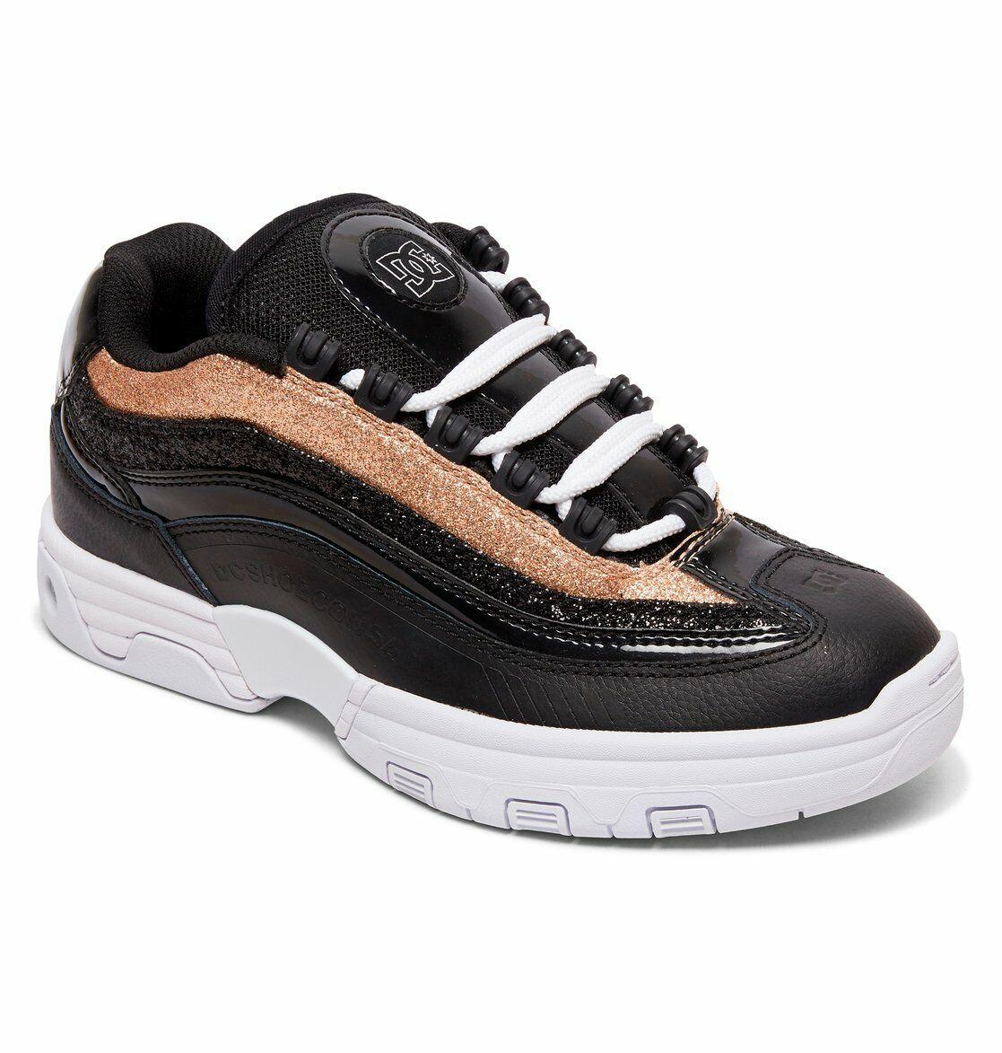 Dc Shoes Legacy Lite Noir - Or ADJS100129 201 Femmes UK 5 - 8
