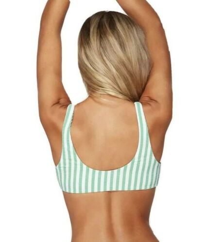 NWT Billabong Brooke Stripe Two Way Bikini Swim Top RRP $59.99. Size 6-14