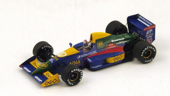 Lola Lc89 P. Alliot 1989    30 6th Spain Gp 1 43 Model S2975 SPARK MODEL c09ecb