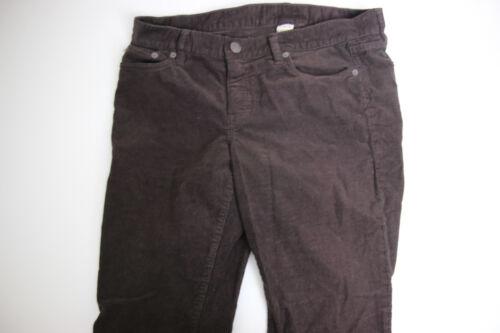 J Crew Favorite fit Womens Pants Sz 30S Brown Cord
