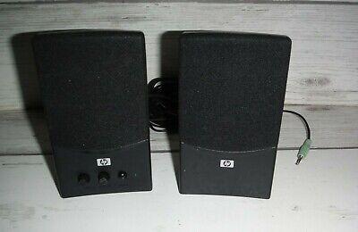 NEW HP USB Black Multimedia Computer Speakers 431779-001 UC-230