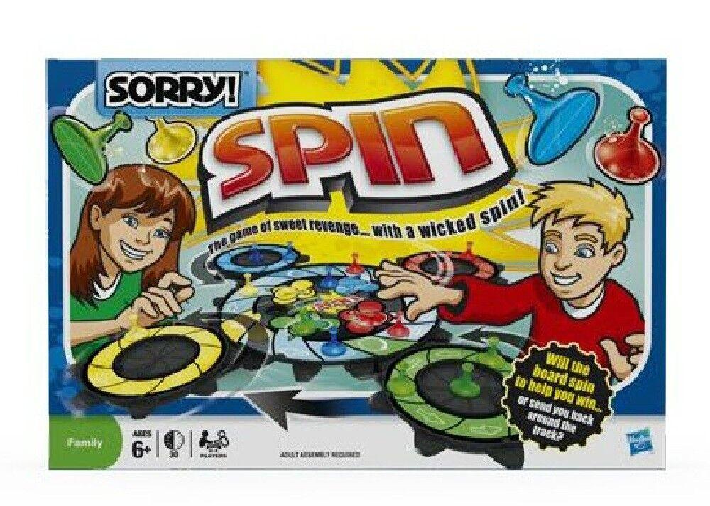 Sorry  Spin gioco by Hasbro nuovo   Garanzia del prezzo al 100%