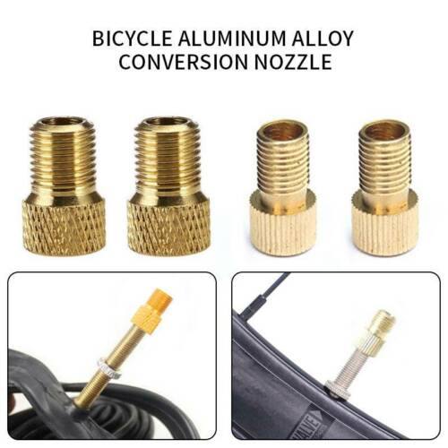 2//5  to Schrader Valve Adapter Converter Road Bike Cycle Bicycle Pump Tube