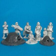 28mm 6 x Medieval Crusades Javelinmen Lion Rampant Saga  cross and crescent
