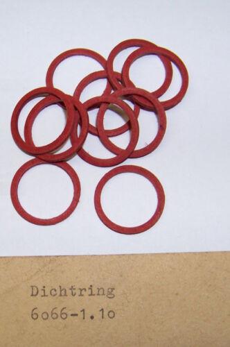 6066-1.10 10x Fiber Dichtringe 20x16x1,8 Nr