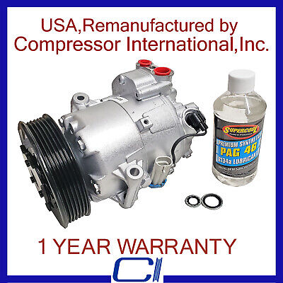 2011 Chevrolet Cruze 1.4L OEM Reman A//C Compressor Delphi#06572708