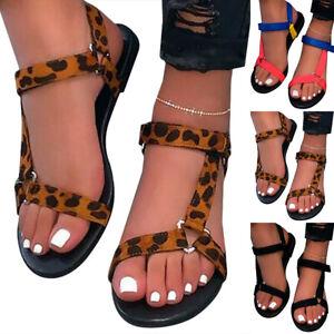 Womens Flats Peep Toe Flat Sandals