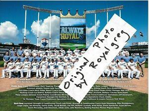 Royals Home Opener 2020.Details About Kansas City Royals 2019 Team Photo 2020 Schedule Sga 9 29 19 Soler Whit Gordon