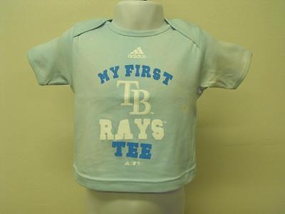 Mein Erstes Tampa Bay Rays T-shirt Kleinkinder Baby 6/9 Months üBereinstimmung In Farbe New-minor Flaw Weitere Ballsportarten Baseball & Softball