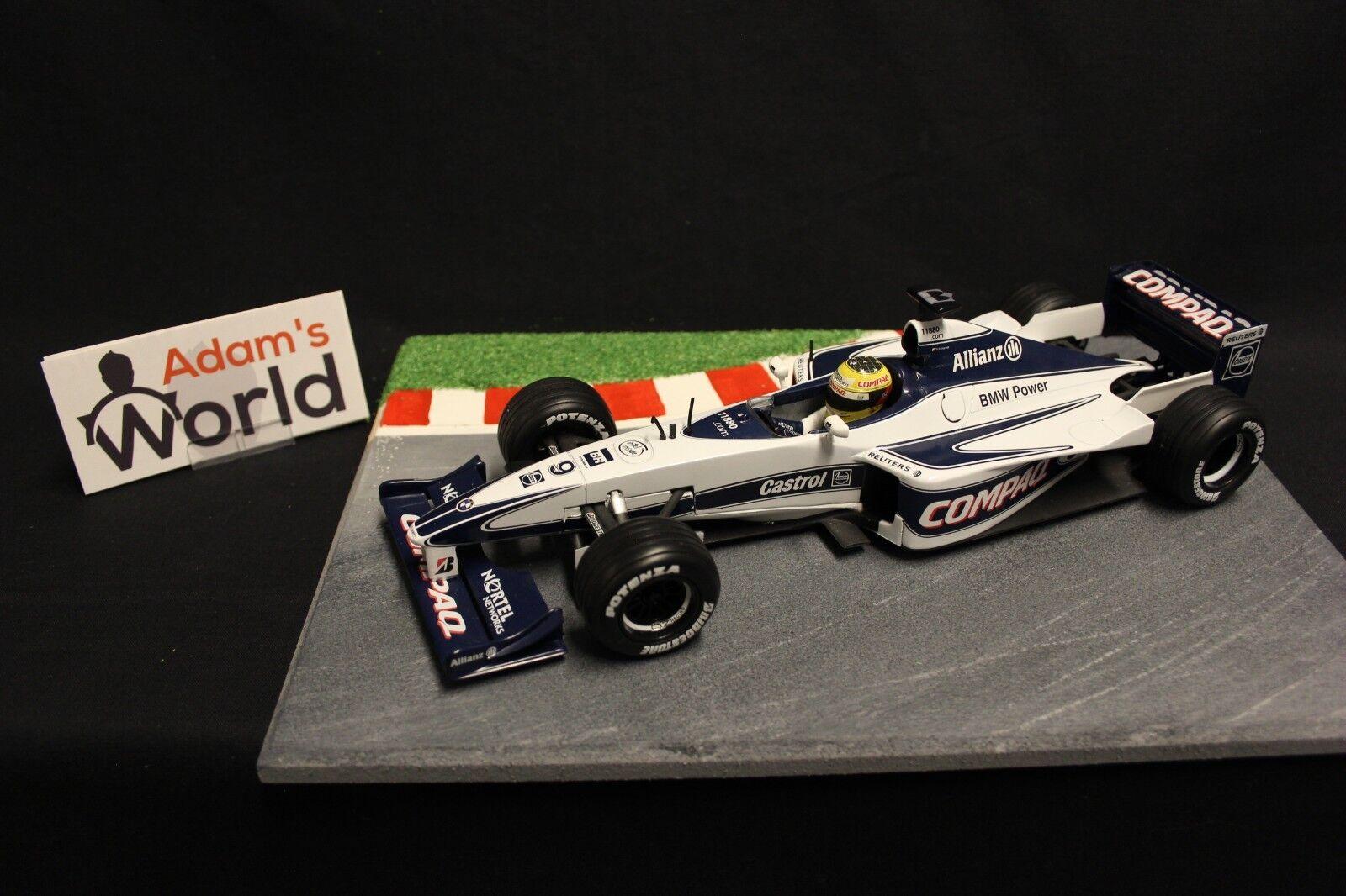 Hot Wheels Williams BMW FW22 2018  9 Ralf Schumacher (GER) (F1NB)