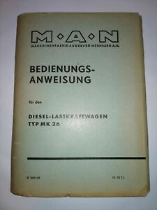 MAN-Diesel-LKW-Typ-MK-26-Bedienungsanleitung