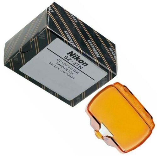 Nikon SZ-3TN Filtro para SB-700 Speedlight incandescente Reino Unido stock