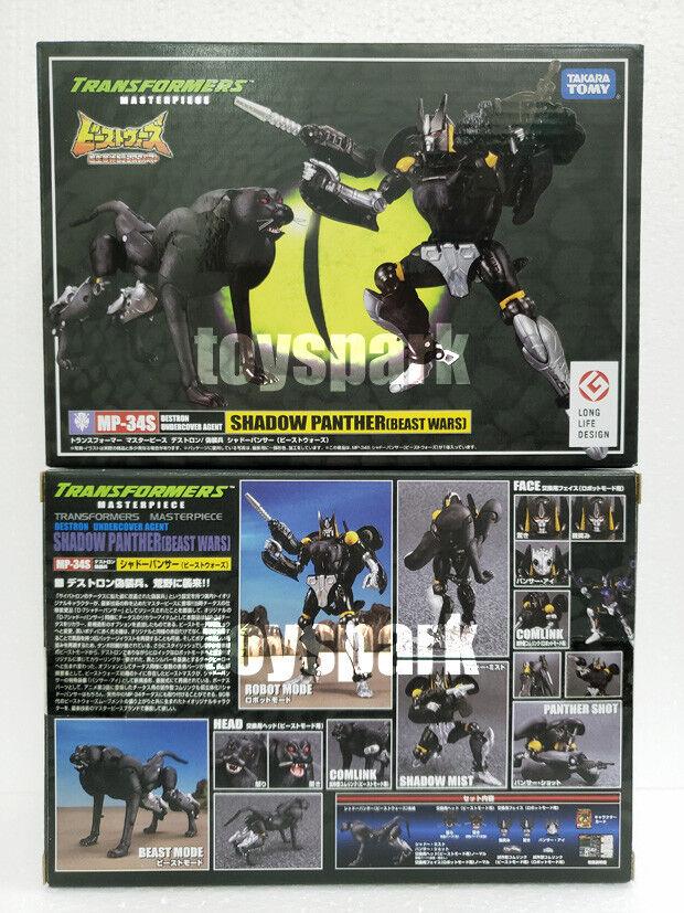connotación de lujo discreta Takara Transformers Masterpiece Beast Wars Wars Wars MP-34S sombra Panther Figura De Acción  ofreciendo 100%