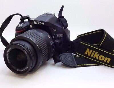 Nikon D D5200 Digital SLR Camera NIKKOR AF-S DX G VR 18-55mm f/3.5-5.6 Lens #20
