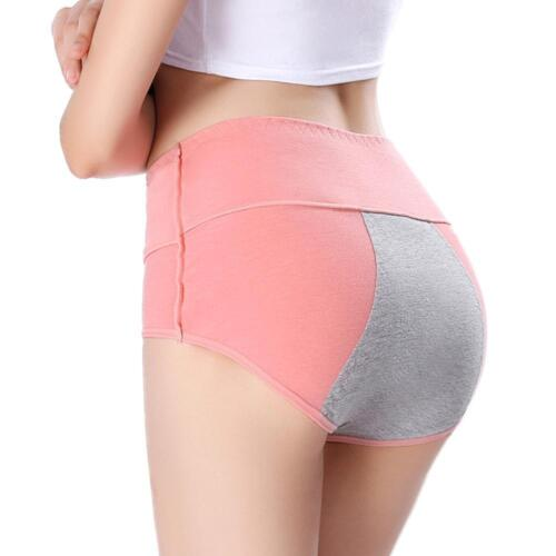 Womens Menstrual Period Leakproof Physiological Pant Briefs Seamless Panties DE