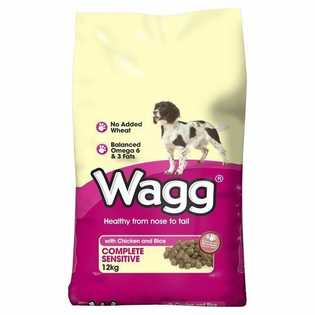 Wagg Complete Sensitive Dry Dog Food 12kg