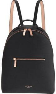 ba6a8e694 New TED BAKER LONDON Jarvis Backpack Rugsack Black Rose Gold  319 ...
