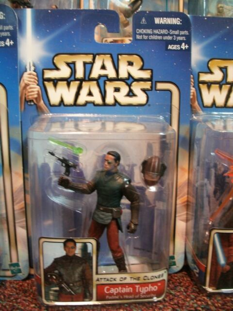 STAR WARS 2002 SAGA ACTION FIGURES CHOICE OF NUMBERS #1 THROUGH #30  ~ MOC