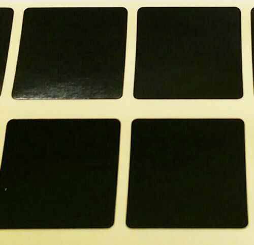 Blank Price Stickers Sticky Labels Square Colour Code Dots 25mm or 38mm