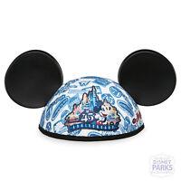Walt Disney World Parks Mickey Mouse Ear Hat Magic Kingdom 45th Anniversary Ears