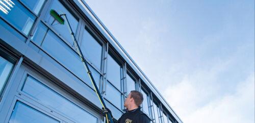 Unger HiFlo nLite Connect Glasfaser Masterstange GF45G 4,5 m Wasserstange Stange