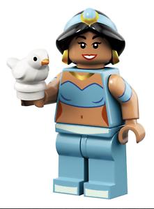 Disney Lego Minifigures Series 2 Jasmine from Aladdin New Opened Foil