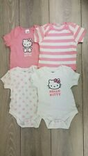 4c8b55363 item 8 Licenced HELLO KITTY 4 Piece Set Rom Baby Bodysuit Pink White 6-9  Mnth B532-12 -Licenced HELLO KITTY 4 Piece Set Rom Baby Bodysuit Pink White  6-9 ...