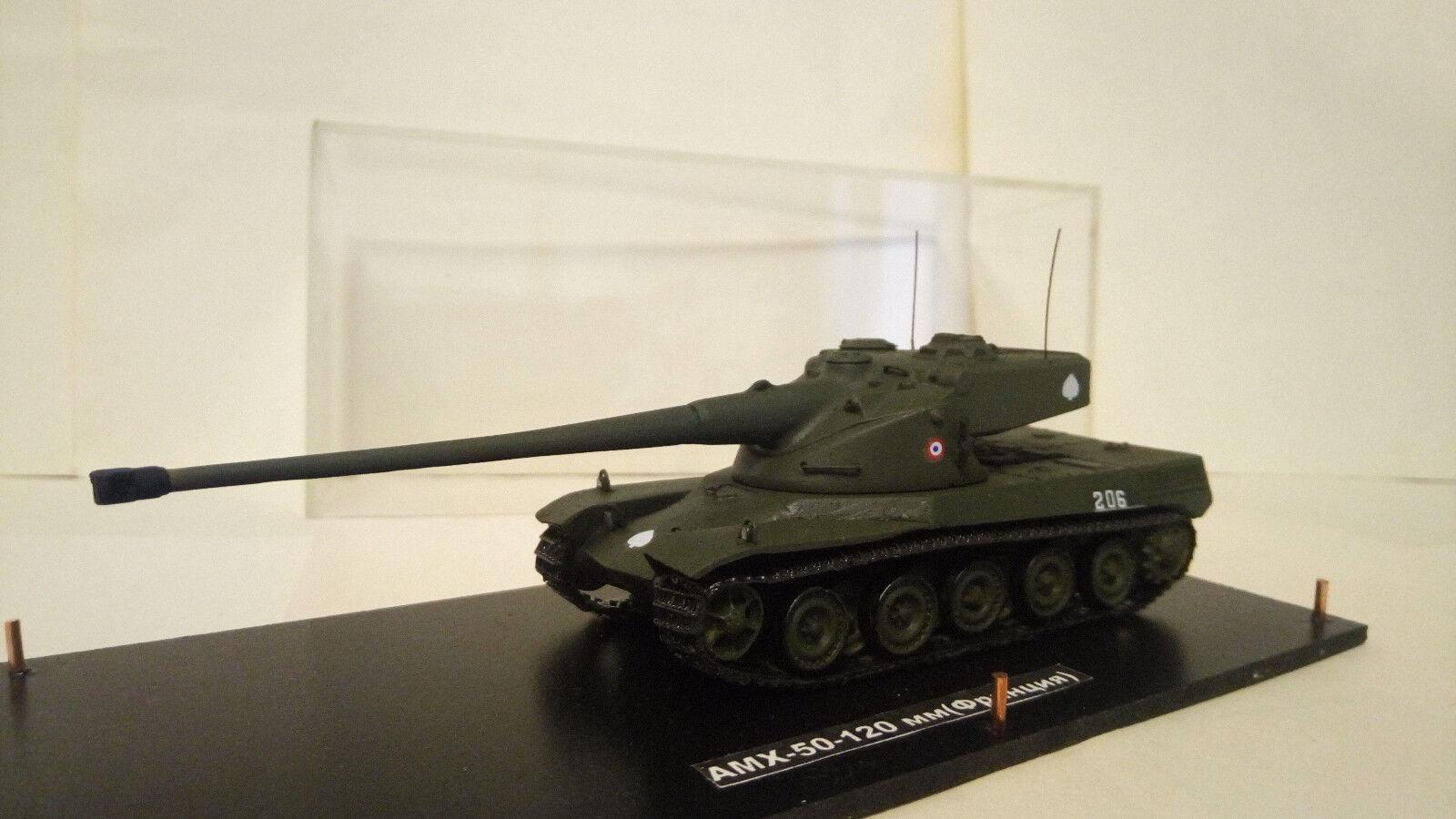 Char lourd français  AMX-50-120 мм  (1 72) 72) 72) (resine) 7f34d5