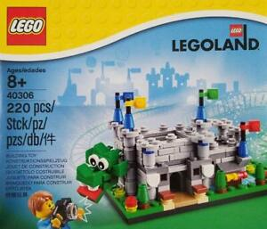 LEGO-Rare-Legoland-Parks-Exclusive-40306-Legoland-Castle-New-amp-Sealed