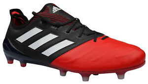 reputable site 533d0 4f134 Das Bild wird geladen Adidas-ACE-17-1-FG-Fussballschuhe-Leder-Nocken-
