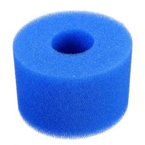 2X Intex Pure Spa Reusable//Washable Foam Hot Tub Filter Cartridge  10.8*7.3 Cm