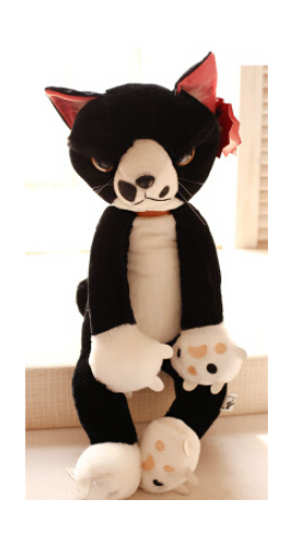 Tamino Maita Japan Short Plush Toys Grumpy Cat Paw Scratch Cat Doll Unisex Gifts
