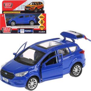 Ford-Kuga-Blue-Diecast-Model-Car-Scale-1-36