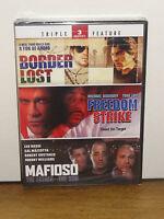Border Lost / Freedom Strike / Mafioso: The Father, The Son (dvd) 2-disc Set