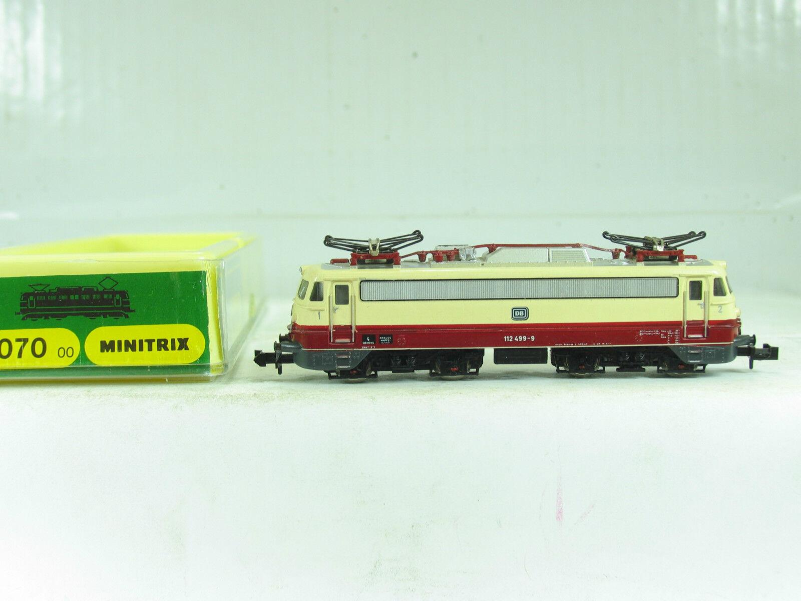 Trix n 51 2055 00 e-Lok br 112 499-9 de la DB b967