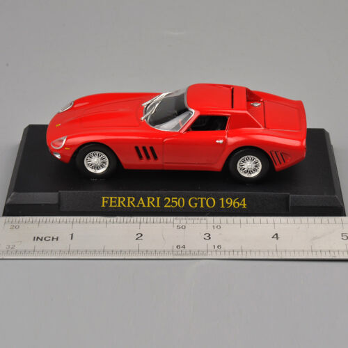 Échelle 1:43 Diecast IXO Rouge Ferrari 250 GTO 1964 voitures modèle jouets collection cadeau
