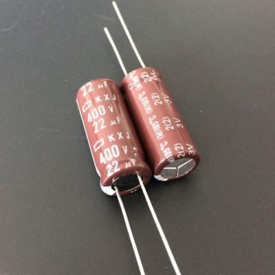 5pcs 20uF 350V  NCC Nippon KXJ  350V20uF Downsized Long Life Capacitor 12.5x15mm