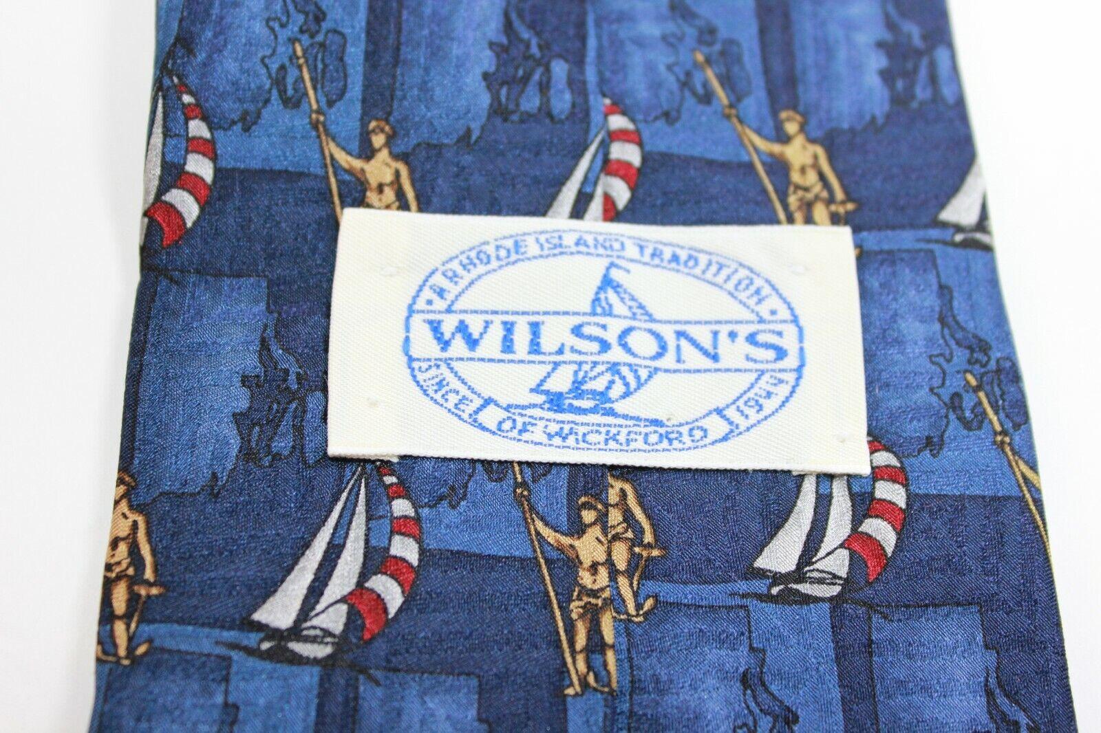 Wilson's of Wickford Rhode Island Blue Multi Sail… - image 3