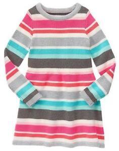 NWT Gymboree ENCHANTED WINTER SZ 4 or 5 Fox Sweater Dress Girls