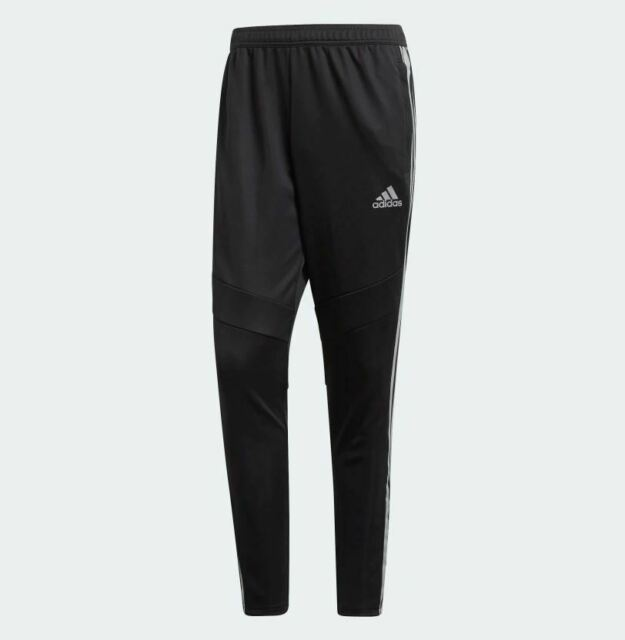 927516bcaf Adidas Men's TIRO 19 Soccer Training Pants Black/Reflective Silver DZ8771 d