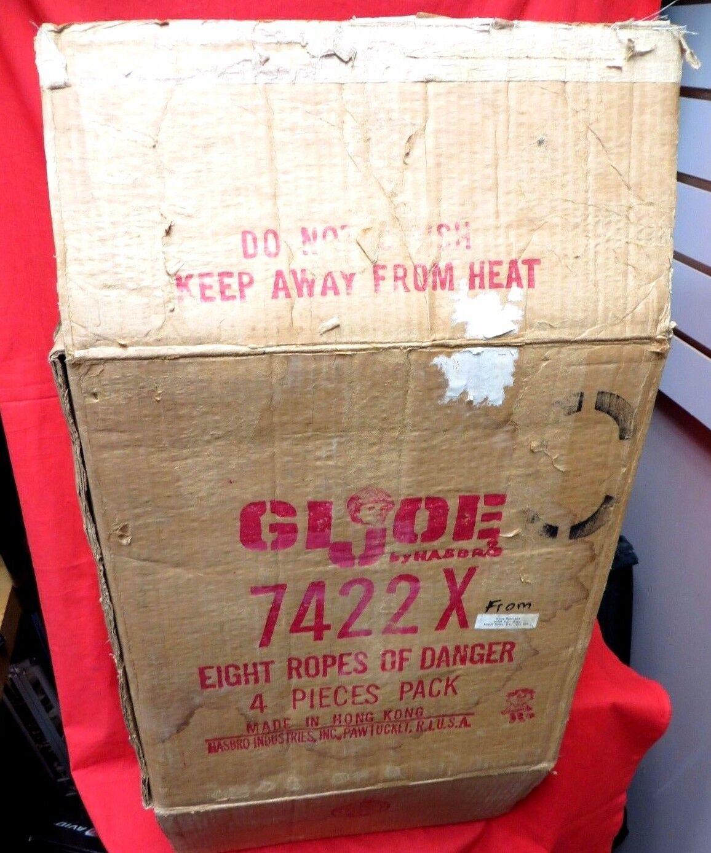 1964 VINTAGE GI JOE JOEZETA  ORIGINAL SHIPPING BOX    AT 8 ROPES OF DANGER