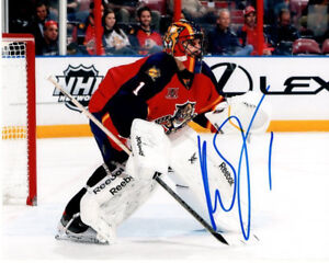 Roberto Luongo Florida Panthers Signed Autographed 8x10 Photo