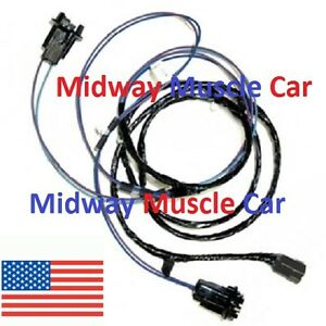 Details about front parking turn signal light wiring harness Chevy pickup  truck suburban 63-66