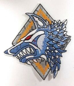 Warhammer 40000 Space Wolves 4 Logo Embroidered Patch Usa Mailed